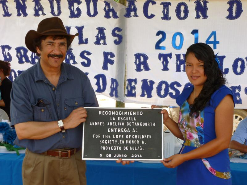 New Honduras School opening 2.