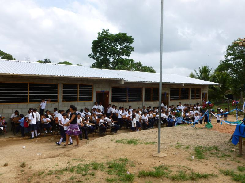 New Honduras School opening 2014