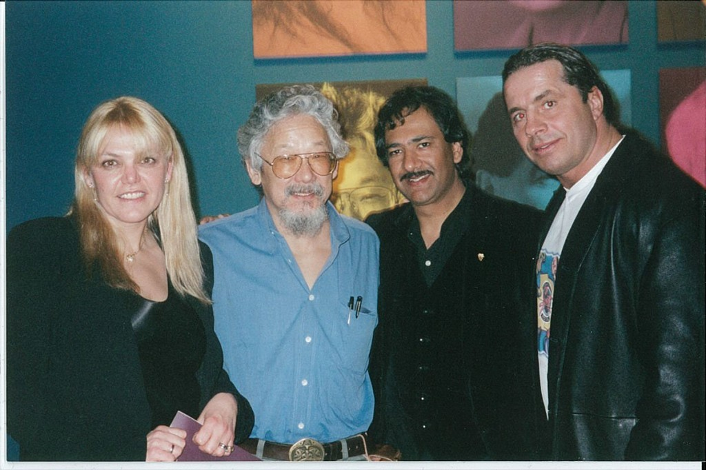 Hitman Photo w David Suzuki